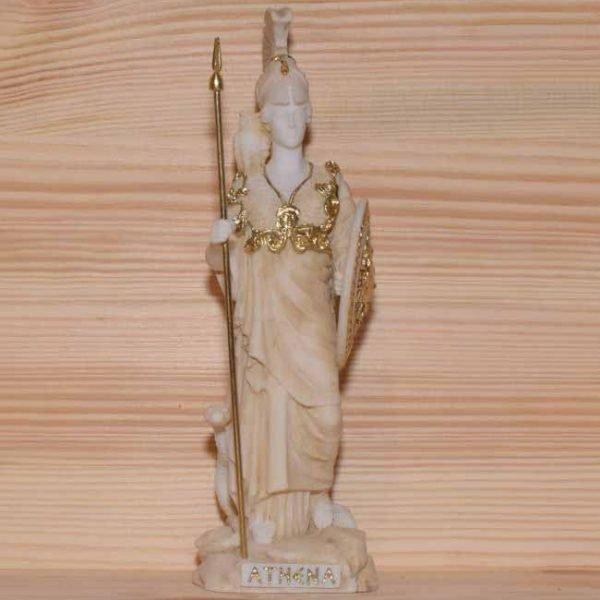 Αρχαίο Ελληνικό Άγαλμα Αθηνά χρυσό 1