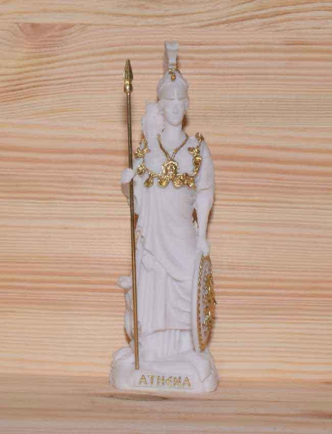 Αρχαίο Ελληνικό Άγαλμα Αθηνά λευκό 1