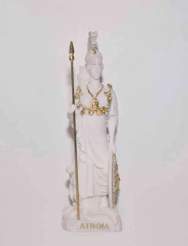 Αρχαίο Ελληνικό Άγαλμα Αθηνά λευκό