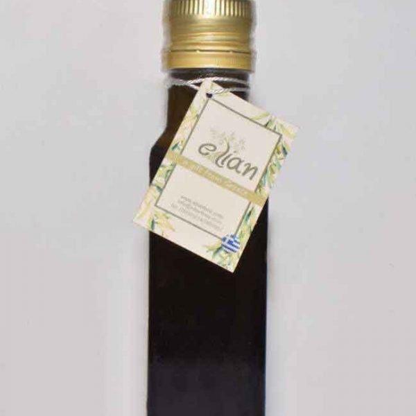 Μπουκάλι ελαιόλαδου ορθογώνιο σκούρο σχήμα