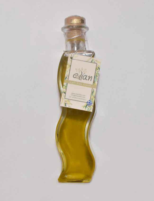 Μπουκάλι ελαιόλαδου σχήμα ζιγκ-ζαγκ